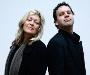 Sally Barker and Glenn Hughes